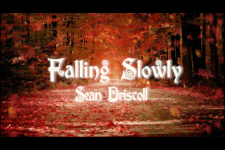 "Sean Driscoll plays ""Falling Slowly."""