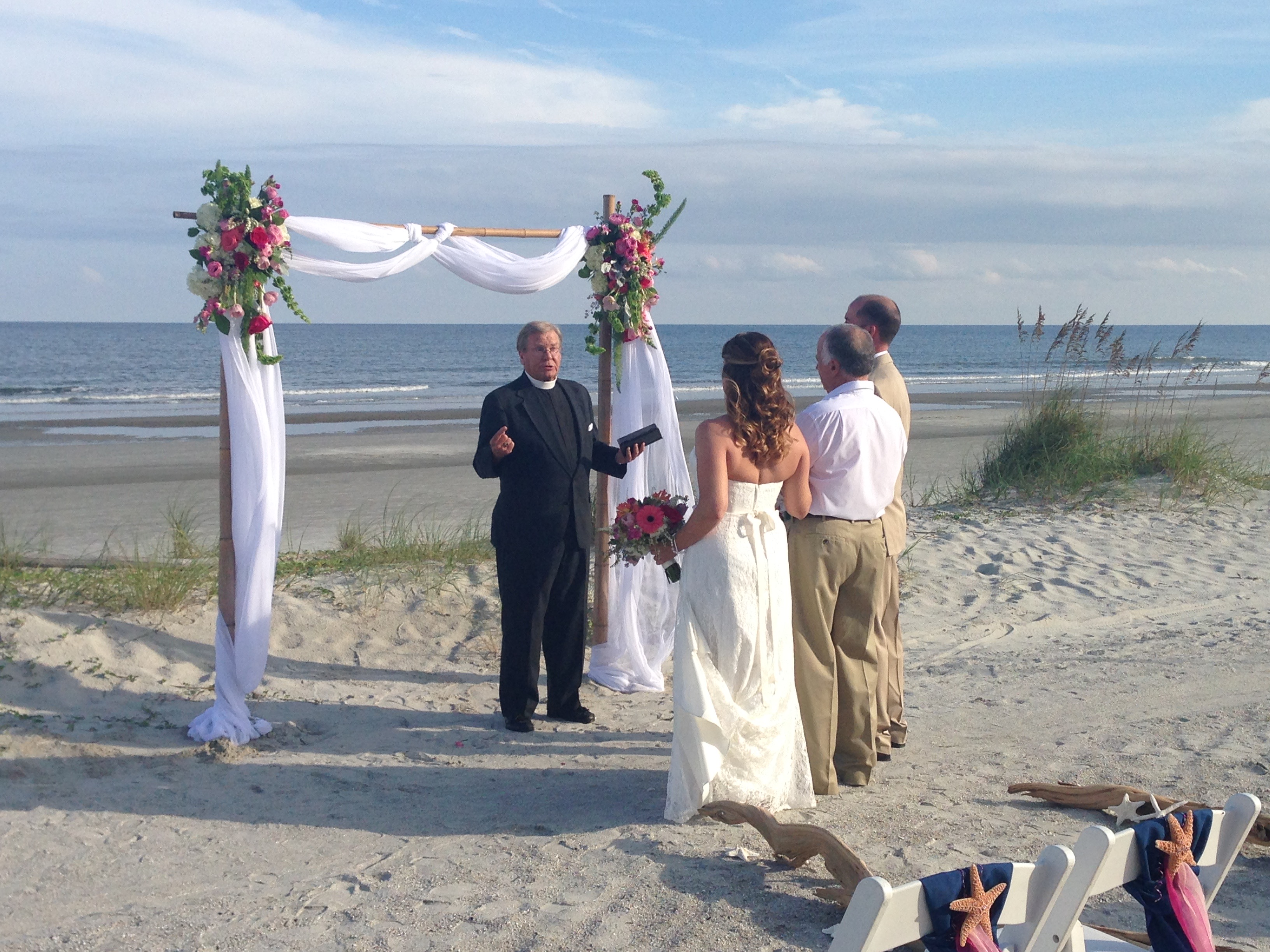Sean Driscoll Plays Guitar For A Lovely On Perfect Beach Wedding Day